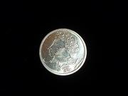 монету 1 рубль 1999 г. Александр Пушкин ММД