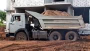 Доставка песка,  щебня,  ОПГС. Спил деревьев,  вывоз мусора.