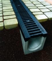 Системы водоотвода,  водостоки,  бетонные желоба,  водоотвод Одема