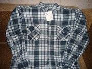 Рубашки мужские фланелевые