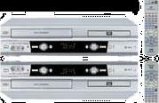 DVD-проигрыватель+ видеомагнитофон в одном корпусе