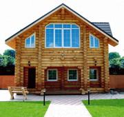 Строительство домов из оцилиндрованного бревна по низкой цене.