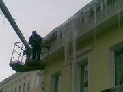 Очистка крыш от снега,  наледи и сосулек. Сбор и вывоз снега.