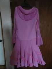 Платья на праздник рост 134 и 146 розового и оранж-хамелион цветов