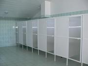 Сантехнические кабины туалетов, душевые перегородки