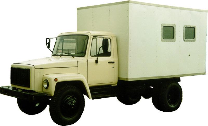 Грузовые автомобили ГАЗ, спецтехника