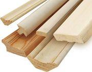 Плинтуса деревянные отделочные