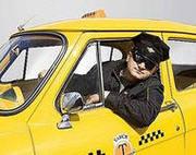 водителем  такси с л/а