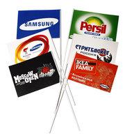 Флажки с логотипом