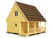 Строительство деревянных бань и коттеджей любой сложности и размеров