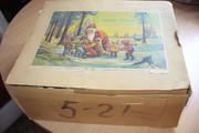 Набор ёлочных игрушек в фирменной коробке гдр