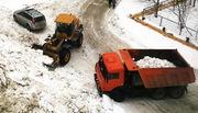 Уборка снега в Нижнем Новгороде