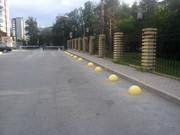 Парковочный ограничитель,  бетонная полусфера