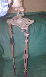 Продам подвеску от антикварной люстры