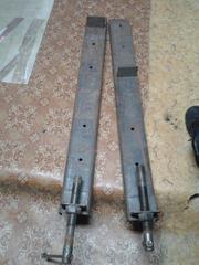 Продам 2 струбцины стальные