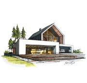 Проектирование и Создание Реалистичной 3Д визуализации домов,  коттедже
