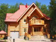 Бревно оцилиндрованное!!! Зимний лес 2010-2011.